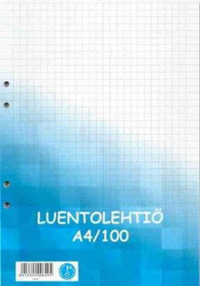 Luentolehtiö A4/100 SK 101017