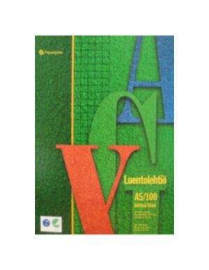 Luentolehtiö A5/100 8-12R 101016