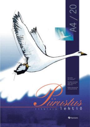 Piirustuslehtiö A4/20 101030