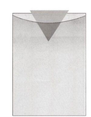 Muovitasku A4 kirkas PVC 130017