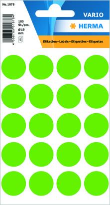 Etiketti Herma vihreä 1011563