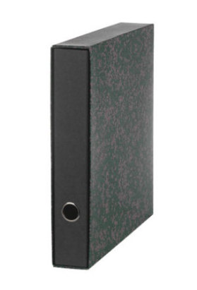 Mappi A4/4 cm Merca, musta 121040