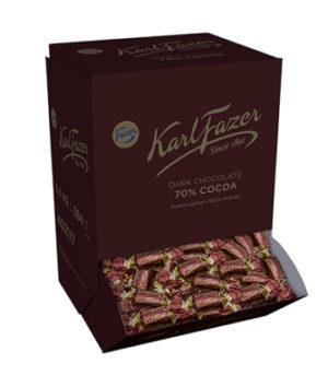 Karl Fazer Dark sulkaakonvehti 70% 3kg 520407