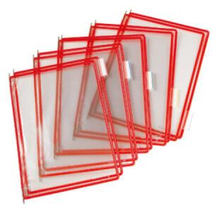 Tarifold tasku A4 punainen 144010