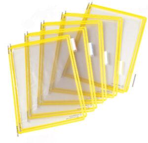 Tarifold tasku A4 keltainen 144011