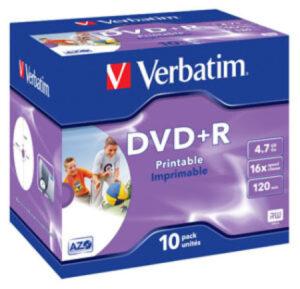 Tietolevy Verbatim DVD+R 4,7GB 146309