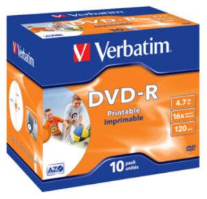Tietolevy Verbatim DVD-R 4,7GB 146310