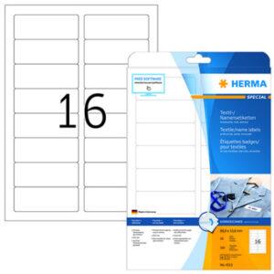 Tekstiilitarra Herma 4515 valk A4 1011567