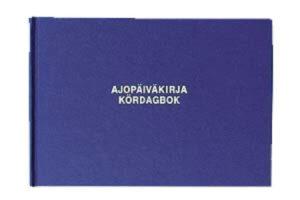 Ajopäiväkirja 185 A5L 96 sivua 117027