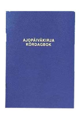 Ajopäiväkirja 187 A5 32 sivua 117029