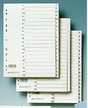 Hakemisto A4 kartonkia 20-os 127031