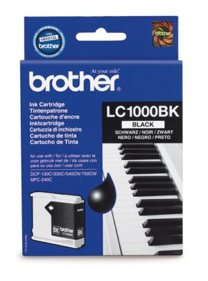 Brother LC1000BK musta 1002637