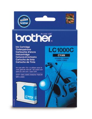 Brother LC1000C cyan 1002638