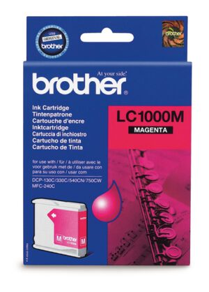 Brother LC1000M magenta 1002639