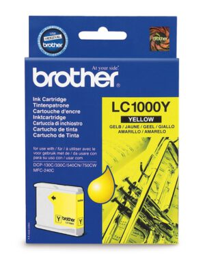 Brother LC1000Y keltainen 1002641