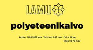 Polyeteenikalvo 10kg/rll 605013