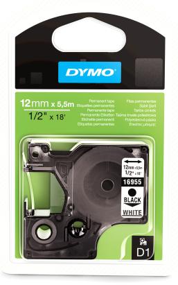 Dymo D1 12mm x 5,5m 16959 1007894