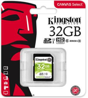 Kingston SDHC muistikortti 146432