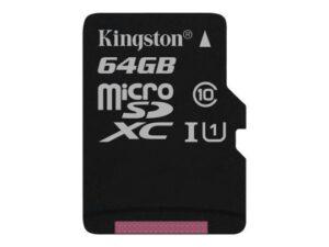 Kingston Canvas Flash muistikortti 64GB 1009033
