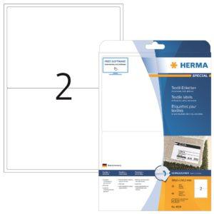 Tekstiilitarra Herma 4519 199,6×143,5mm 2-os  20ark/ras  5RAS