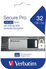 Usb muisti salasanasuojaus USB 3.0 Drive Secure Data Pro 32GB, Silver 2KPL/PAK