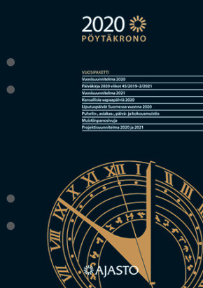 Pöytäkalenteri Pöytäkrono
