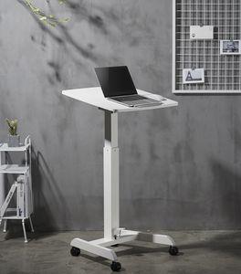 Korkeussäädettävä pöytä GetUpDesk Tilt kallistettavalla työtasolla valk. (Loppu tällähetkellä)