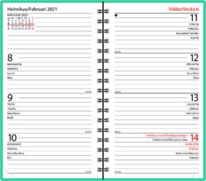 Taskukalenteri Agenda Horizont vuosipaketti, Ajasto, 2021