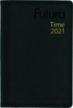 Taskukalenteri Futura Time musta, Ajasto, 2021