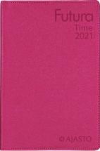 Taskukalenteri Futura Time punainen, Ajasto, 2021