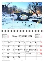 Seinäkalenteri Laskutasku 2021
