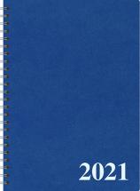 Pöytäkalenteri Nova Eko sininen, 2021