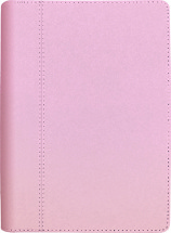 Pöytäkalenteri Nova kierre, vaaleanpunainen 2021