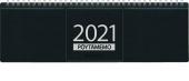 Pöytäkalenteri Pöytämemo musta, 2021