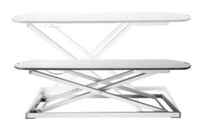 Stoo® Desk On Desk, kotitoimiston pieni säädettävä pöytätaso 73x47cm musta