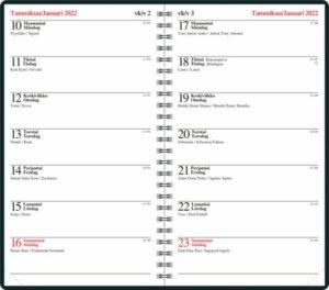 Pöytäkalenteri Naava 14 kierre, 2022
