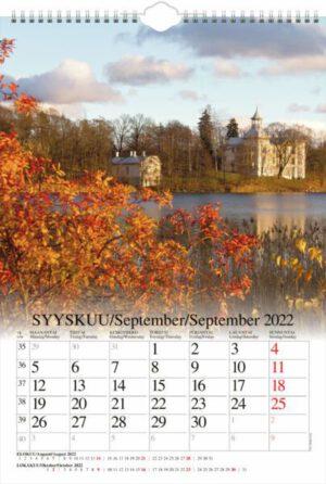 Seinäkalenteri A3 Suomi 2022 (LOPPU)